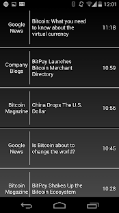 Bitcoin News, Ticker, & Charts - screenshot thumbnail