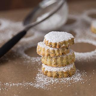 Pistachio Rosewater Cookies.
