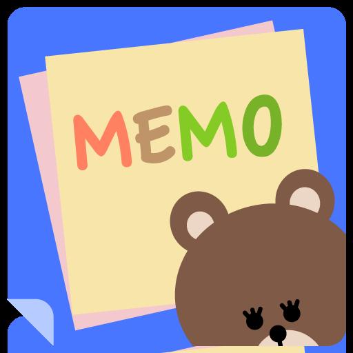 ぷちメモ - かわいい メモ帳 ノート 付箋 工具 App LOGO-硬是要APP