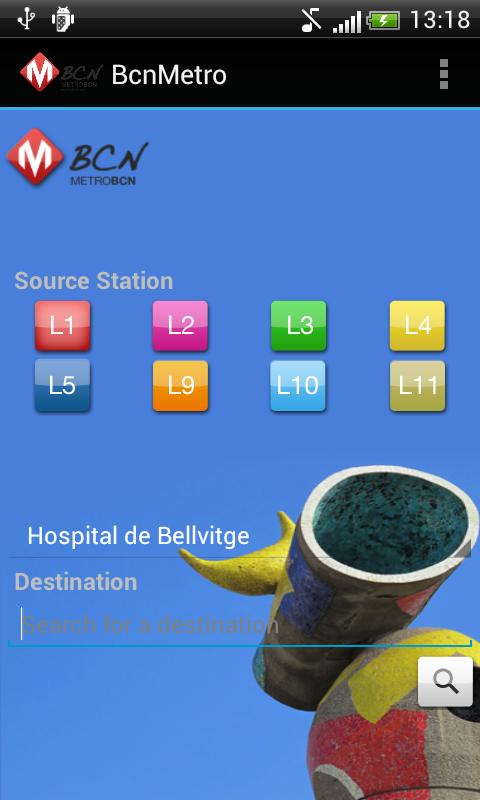 BCN Metro- screenshot