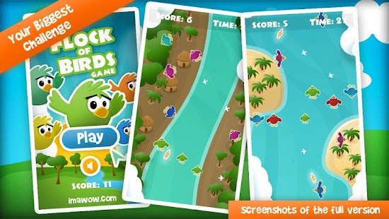 Flock of Birds Game Demo