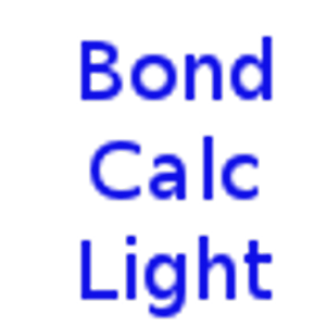 Bond Calculator Light for Android