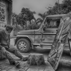 by Souvik Nandi - City,  Street & Park  Street Scenes (  )