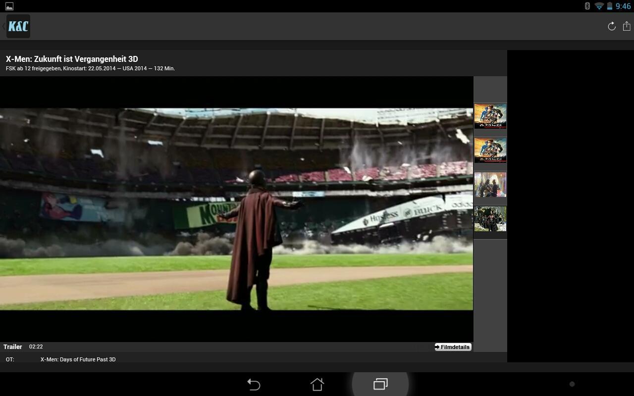 KINO&CO – Wissen, was kommt – Screenshot