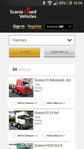 Scania Used
