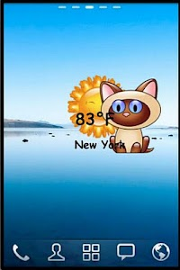 Kitten  Weather Widget screenshot 0