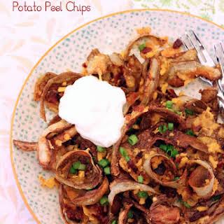 Bacon Cheddar Potato Peel Chips.