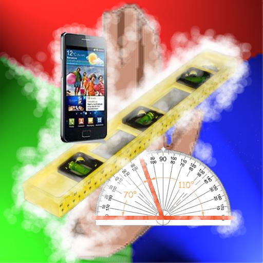 數碼氣泡水平尺 金 工具 App LOGO-APP開箱王