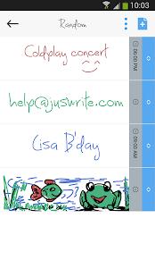 JusWrite Stylus Task Organizer - screenshot thumbnail