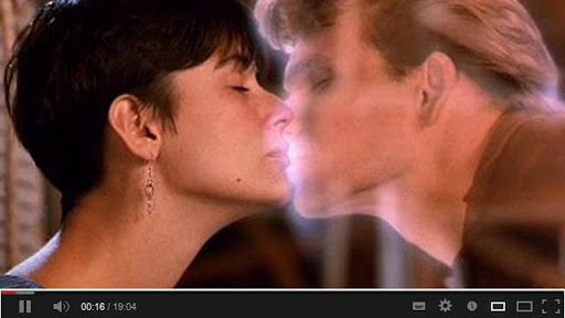 """場景在電影""""法蘭西之吻"""""""