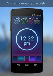 Neon Alarm Clock - screenshot thumbnail