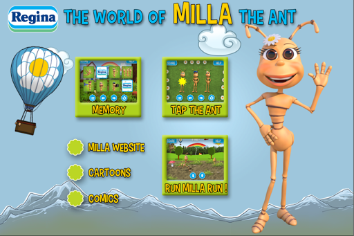 Milla the ant