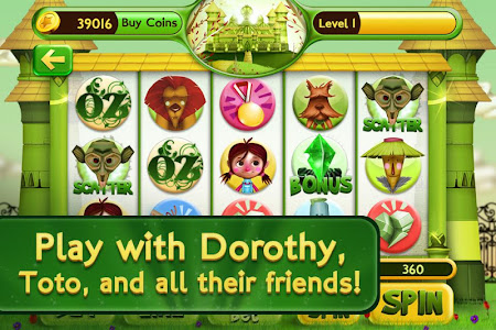 Slots Wizard of Oz 1.0.9 screenshot 38150