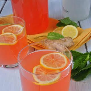 Ginger Mint Lemonade.