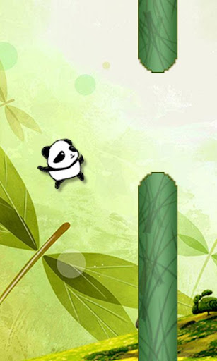 Flying Panda : Jungle Run