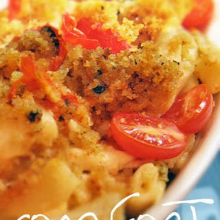 The Best Vegan Baked Mac and Cheese.