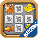 Memory Game for Kids - Pets icon