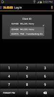 Screenshot of ASB Mobile Business