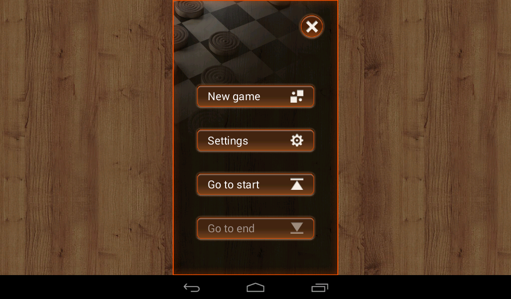 All-In-One Checkers - screenshot