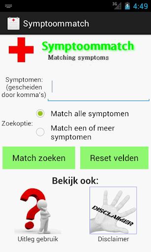 Symptoommatch