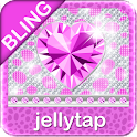 ☀ BLING Purple Cheetah SMS ☀ icon