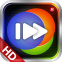 100tv HD player logo