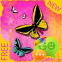 GO SMS Pro Theme Butterfly icon