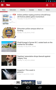 Edmonton SUN+ - screenshot thumbnail