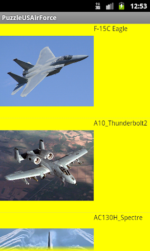 Puzzle US Air Force