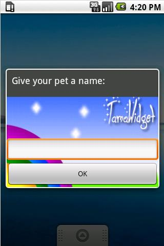TamaWidget Dog- screenshot