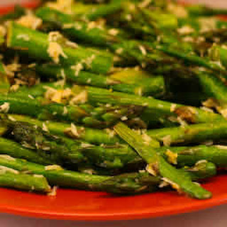 Grilled Asparagus with Double Lemon and Parmesan.