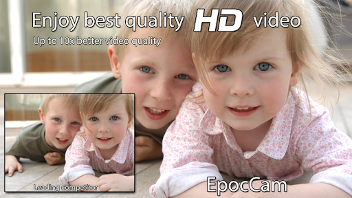 EpocCam - Wireless HD webcam