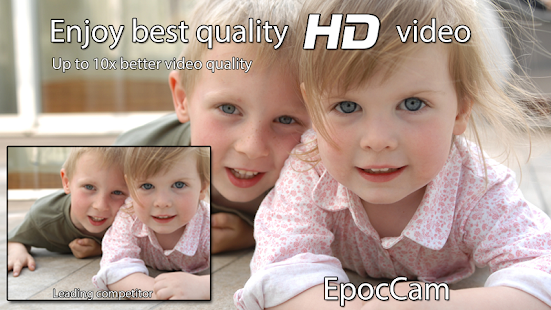 EpocCam - Wireless HD webcam- screenshot thumbnail