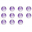 CUKI Theme Violet Ball Icons logo