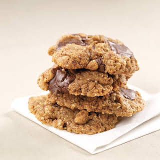Almond Butter Chocolate Chip Cookies.