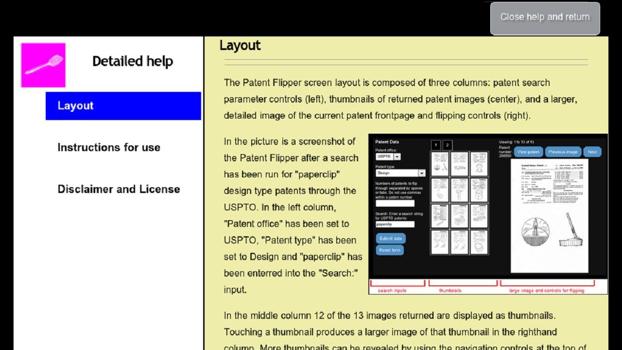 Patent Flipper- screenshot