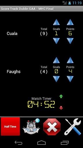 Score Track Dublin