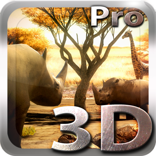 Africa 3D Pro Live Wallpaper app for Android