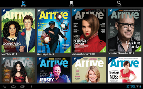 Arrive Magazine - screenshot thumbnail