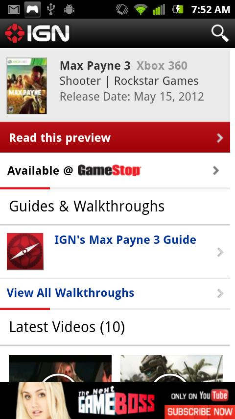 IGN Entertainment - screenshot