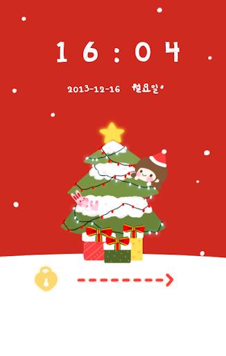 다솜 크리스마스 코락커 테마