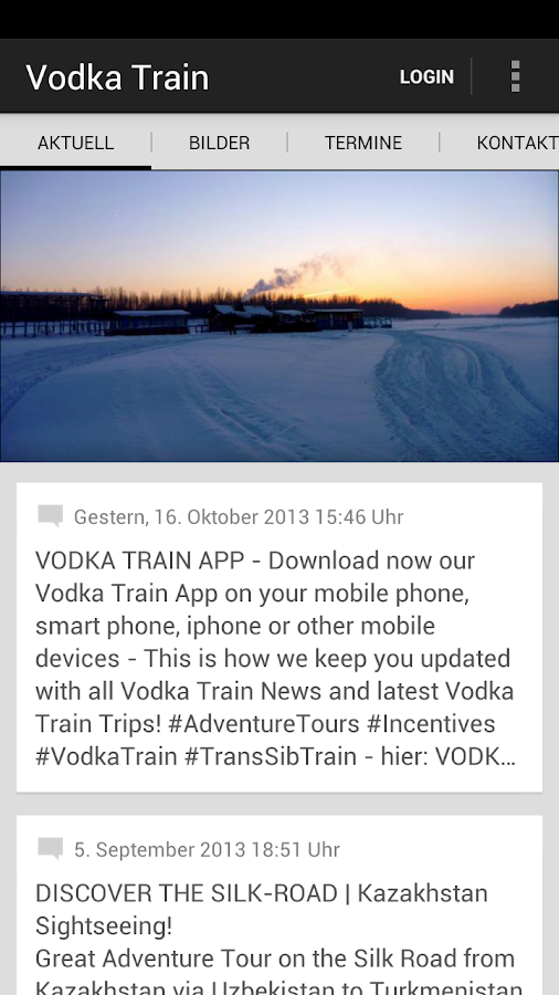 VODKA TRAIN ADVENTURES - screenshot