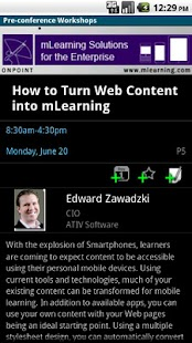 mLearnCon 2011 - screenshot thumbnail