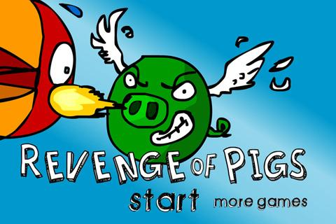Revenge of Pigs- screenshot