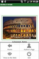 Screenshot of Mobile Rome