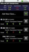 Screenshot of GradeWizard