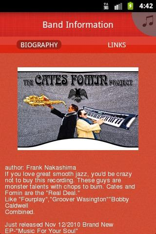 """The Cates Fomin Project "" - screenshot"