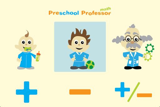 Preschool Professor - Math