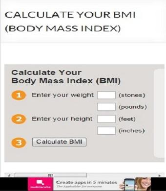 Calculate Your BMI