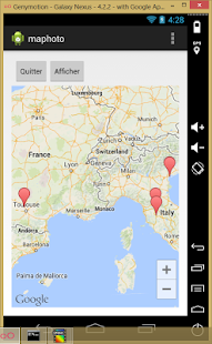 Photo Map Exif Gps Editor - náhled